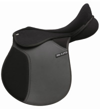 HI-LITE CLUB GP SADDLE SET – INCLUSIVE OF STIRRUP LEATHER, IRON AND GIRTHS