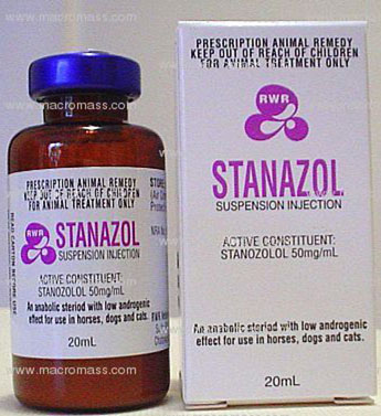 stanozolol suspension side effects